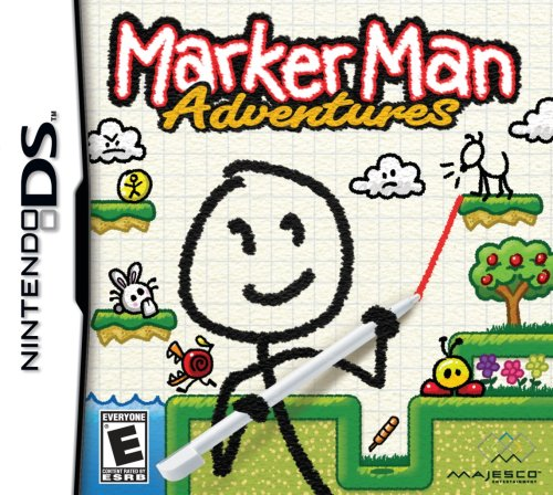 drawing games for nintendo ds Marker Man Adventures Looks To Draw In Gamers At Retail