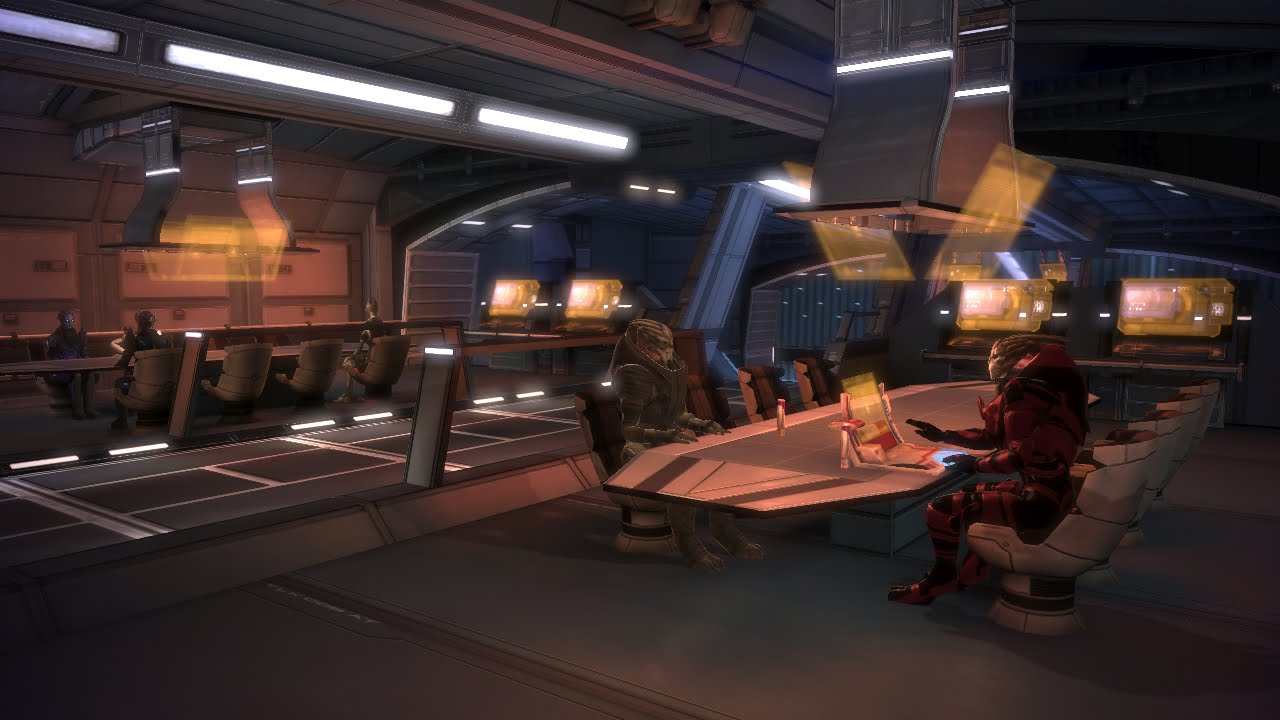 mass effect 1 pinnacle station aherns mission
