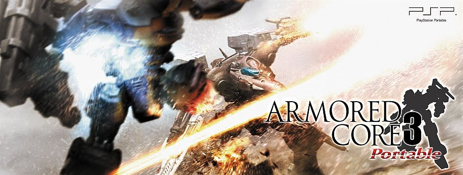 Armored Core 3 Portable Hits Psp As Psn Dlc Only Destroy All Fanboys