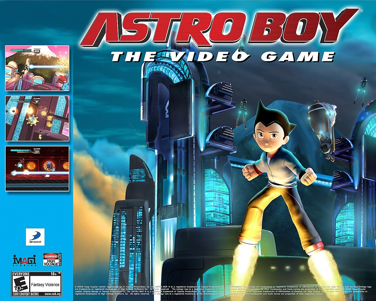 Astro Boy The Video Game Wallpapers Destroy All Fanboys Movie Action Figure Original