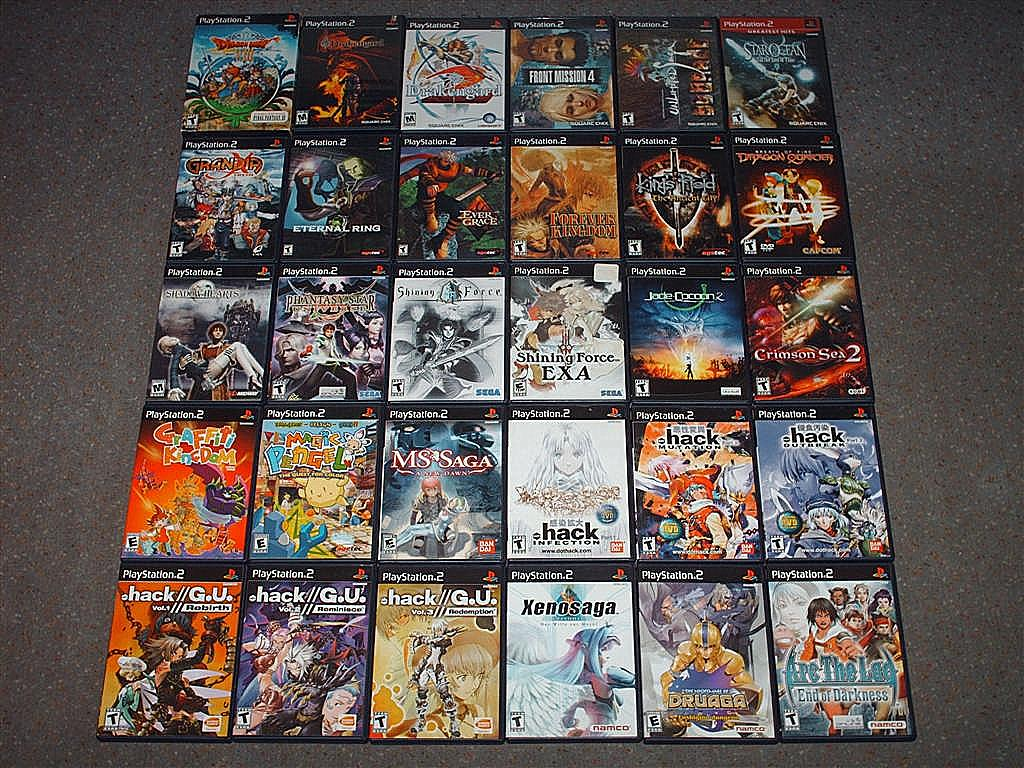 Gallery: PlayStation 2 Library (US) |