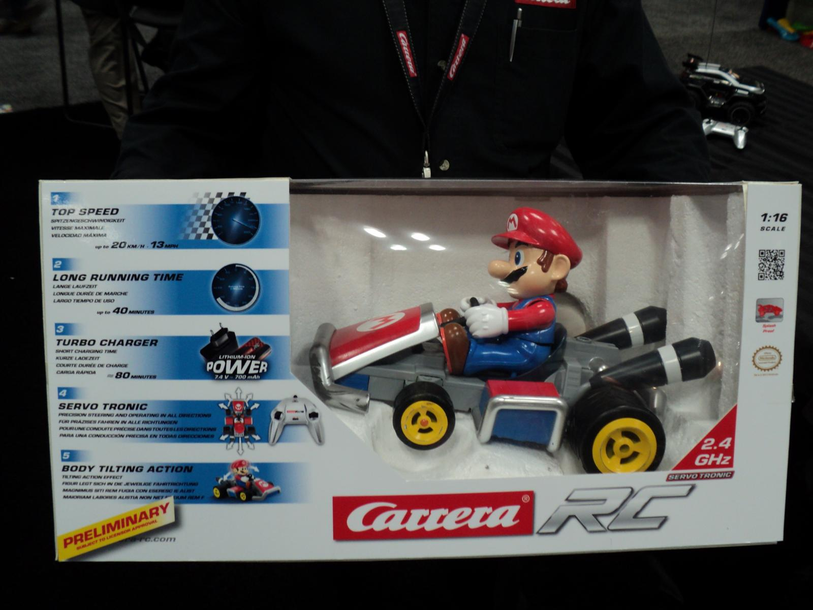 toy fair 2013 carrera s mario kart rc and race sets speeding to retail this year destroy all. Black Bedroom Furniture Sets. Home Design Ideas
