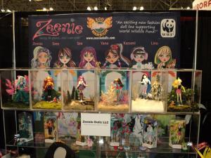 Zeenie Dolls Display