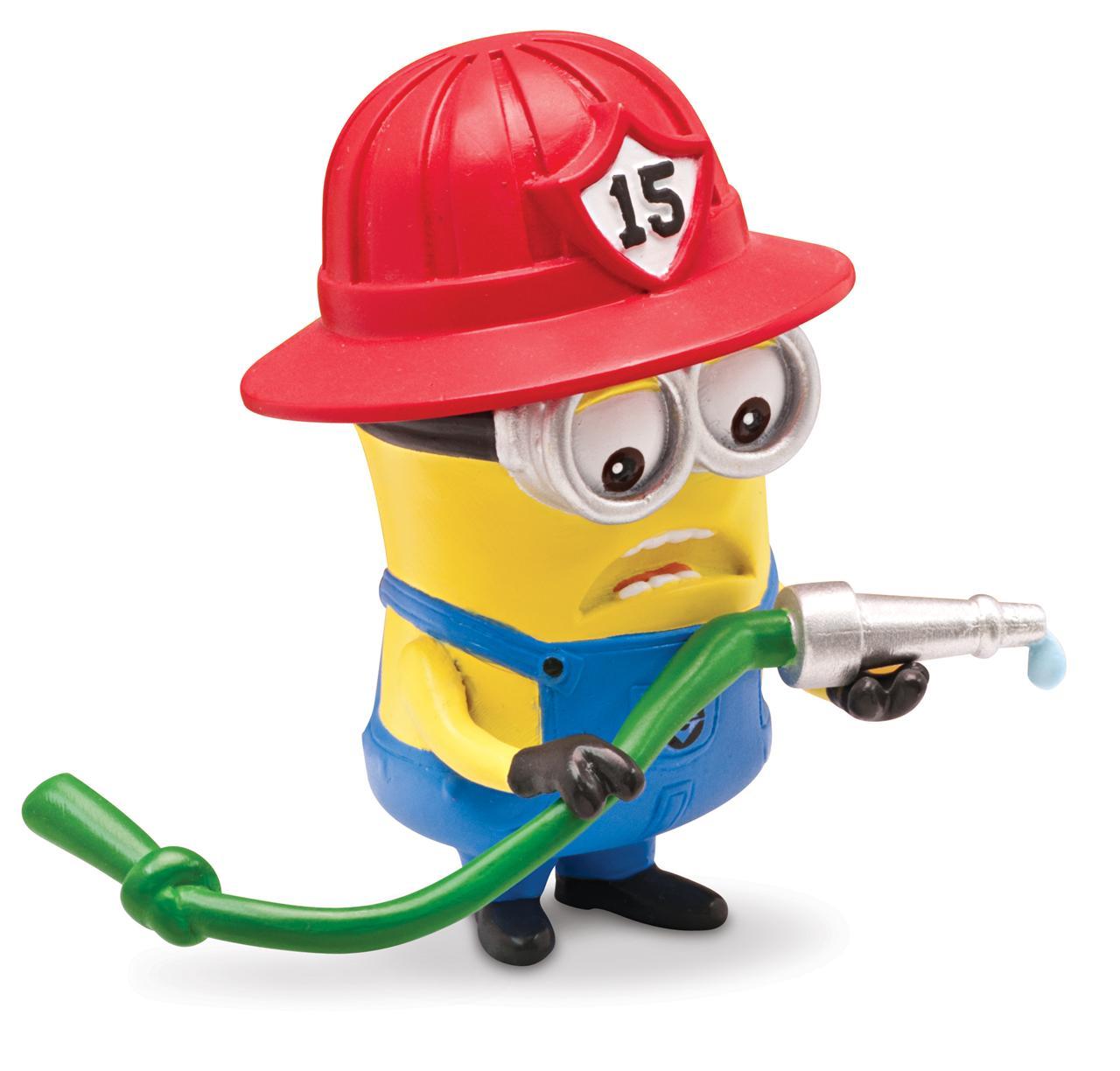 Despicable Me 2 Minion Fireman 2 Action   Walmartcom