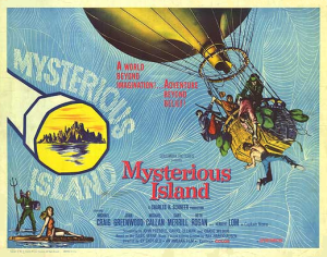 Mysterious Island Poster