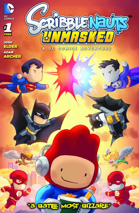 Scribblenauts Store Front Cover Final