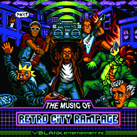 virt, Freaky DNA and Norrin Radd - Retro City Rampage Soundtrack - cover