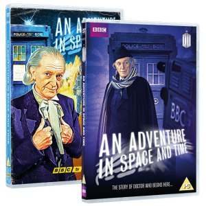 An Adventure In Space and Time DVD UK
