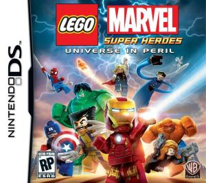 LEGO Marvel Super Heroes DS Box Art