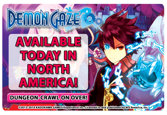 Demon Gaze Out Now
