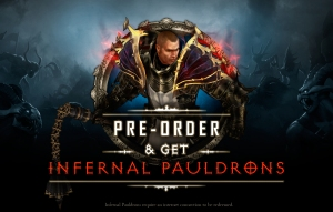 DIII UEC Infernal Pauldrons