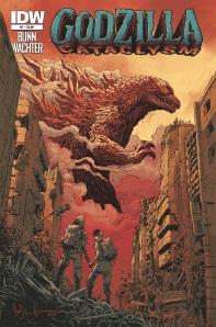 Godzilla Cataclysm Cover