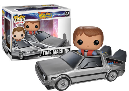 McFly w Delorean