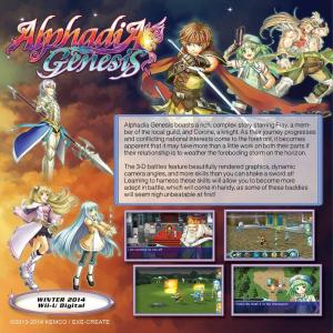 Alphadia Genesis Wii U