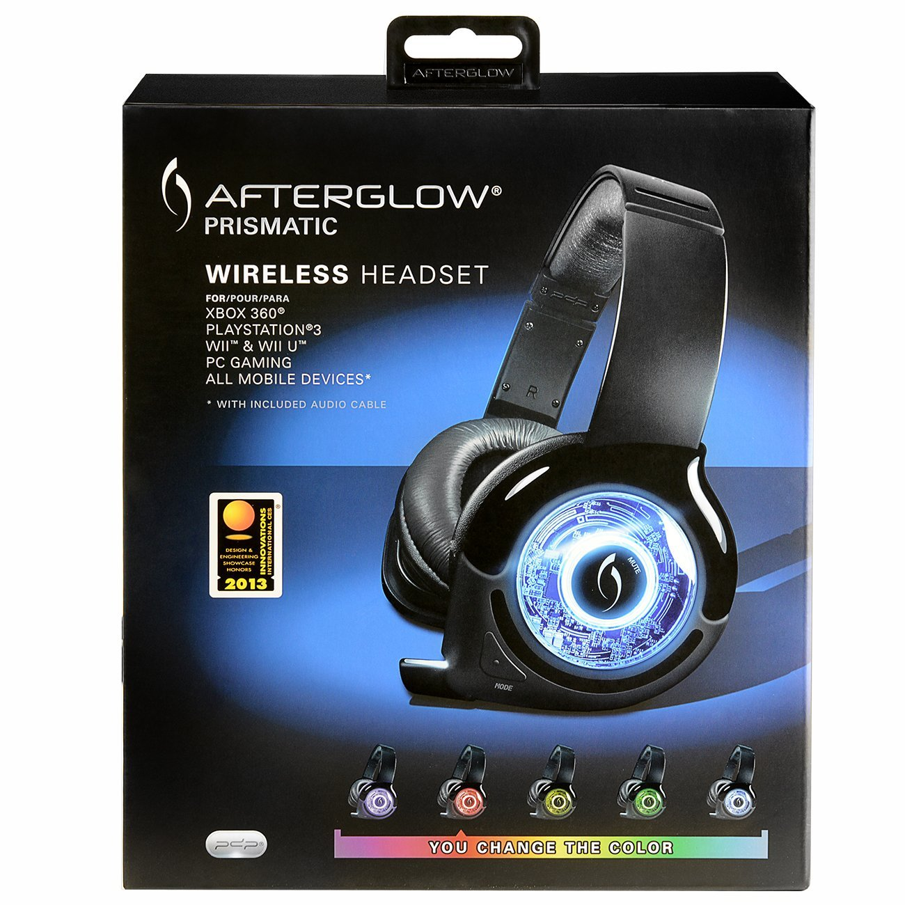 how to set up afterglow ps3 controller