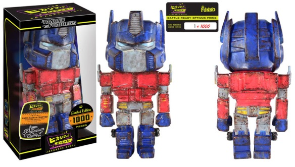 Battle Ready Optimus Prime Hikari Premium