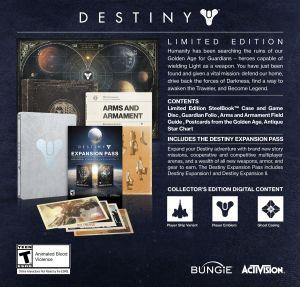 Destiny Limited Edition_info sheet