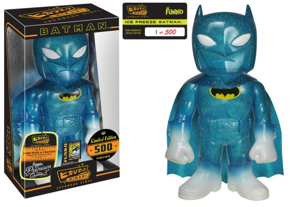 Ice Freeze Batman