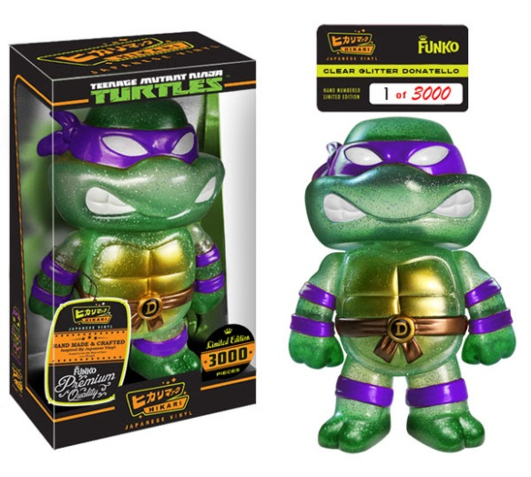 Limited Edition Clear Donatello