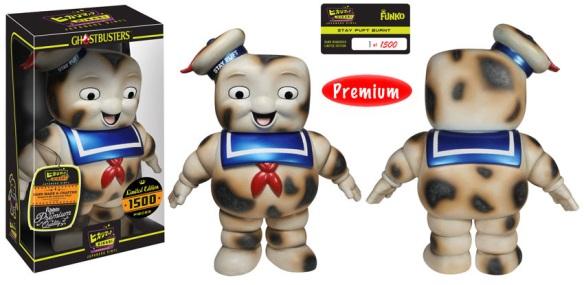 Burnt Stay Puft Premium Hikari Sofubi Figure