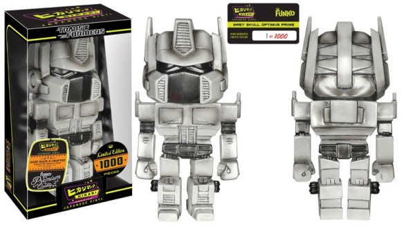 Grey Skull Optimus Prime Hikari Sofubi Figure