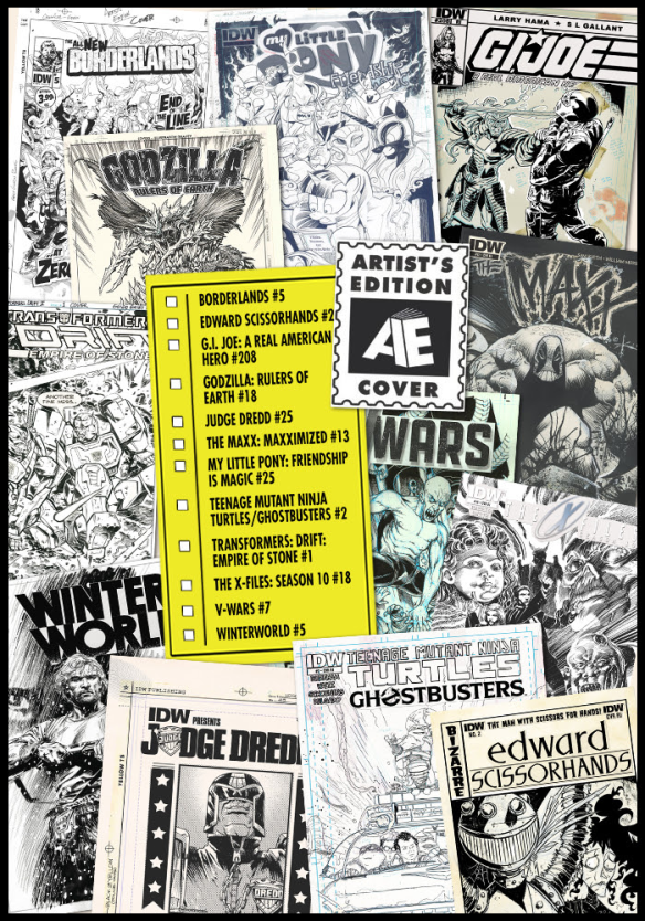 IDW AE Covers