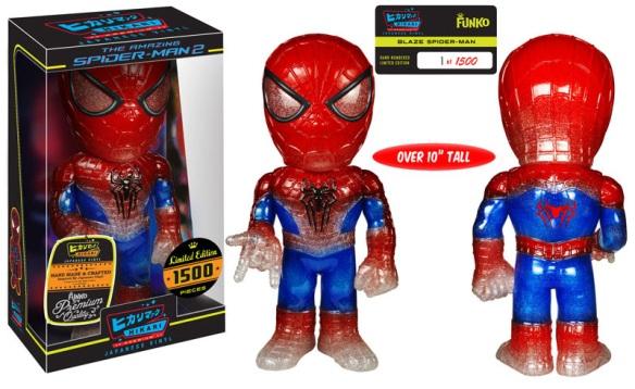Premium Blaze Spider-Man Hikari Sofubi Figure