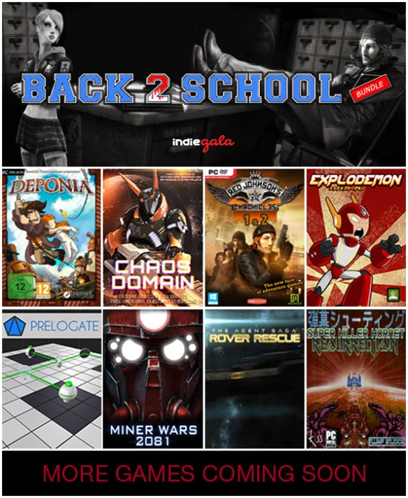 Back 2 School Bundle IndieGala