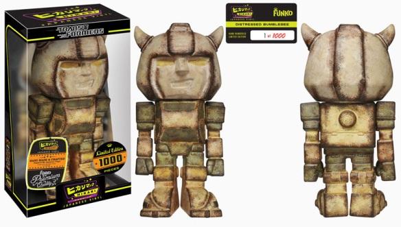 Distressed Bumblebee Premium Hikari Sofubi Figure