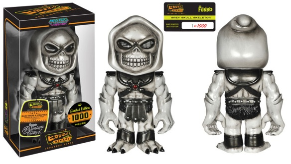 Grey Skull Skeletor Hikari Sofubi Figure