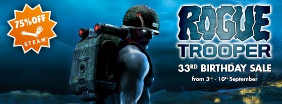 Rogue Trooper Bday Sale