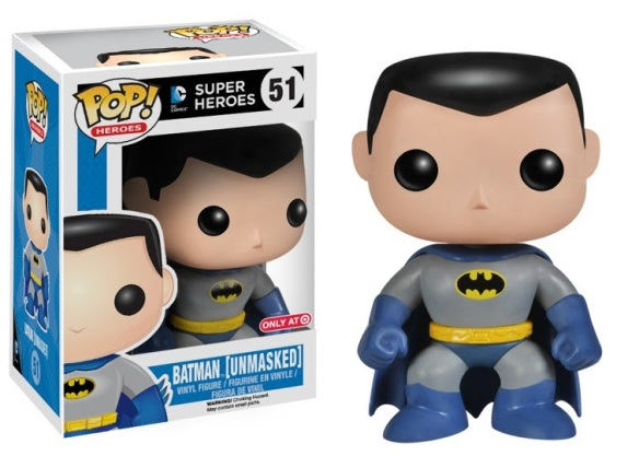 Target Exclusive Unmasked Batman Pop