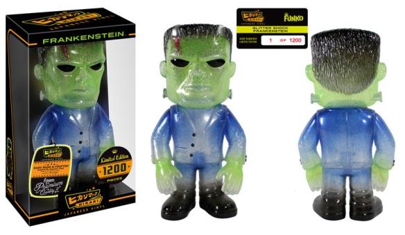 Glitter Shock Frankenstein Hikari Sofubi Figure