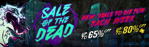 PSN Sale of the Dead Banner