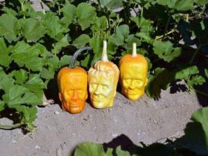 Pumpkinstein x3