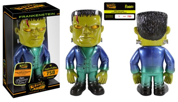 Gemini Collectibles Exclusive Metallic Frankenstein Hikari Sofubi Figure
