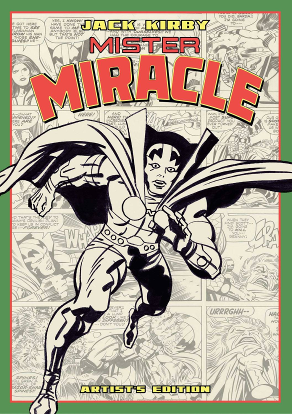 Mister Miracle Artist's Edition IDW 2