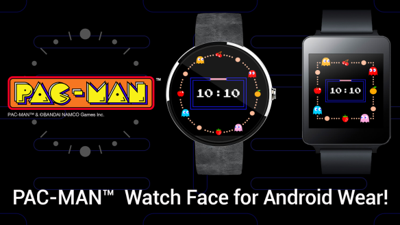 Android Wear PAC-MAN Watch Face