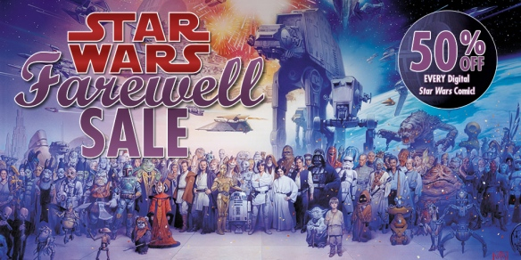 Dark Horse Star Wars Farewell Sale