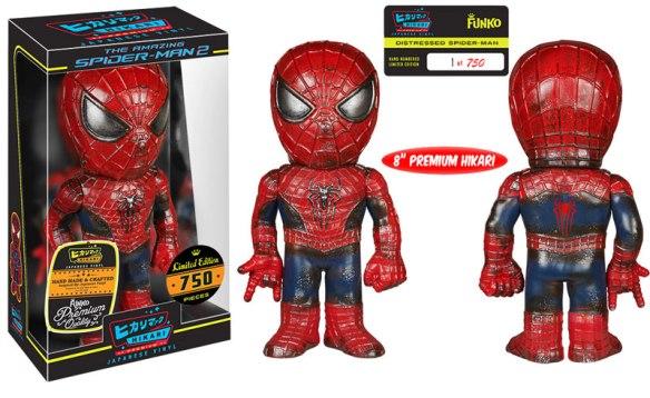 Funko Distressed Spider-Man Hikari Sofubi Figure
