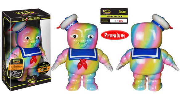 Funko Retro Pastels Stay Puft Hikari Premium Sofubi Figure