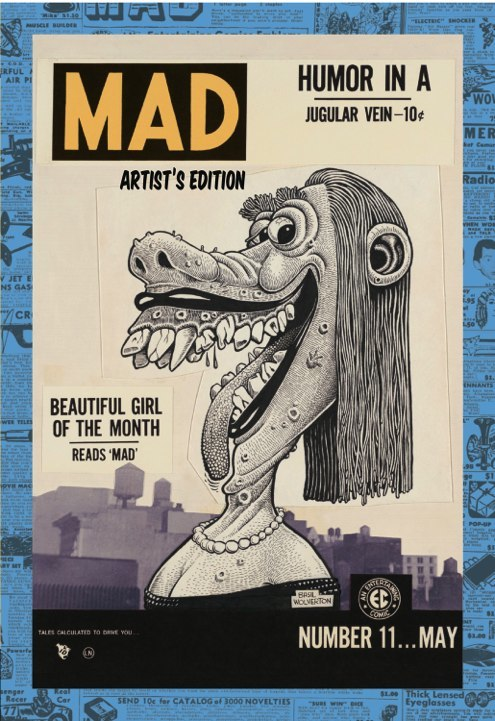IDW Mad Artist's Edition Variant Cover