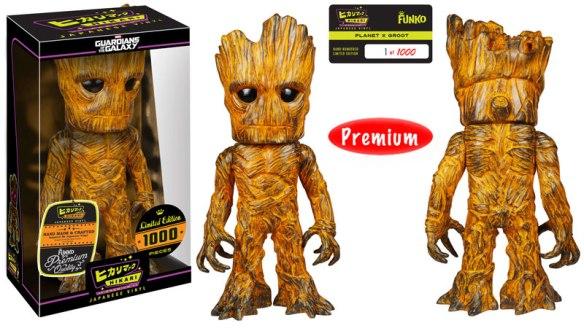 Planet X Groot Premium Hikari Sofubi Figure