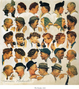 The Gossips (Norman Rockwell)