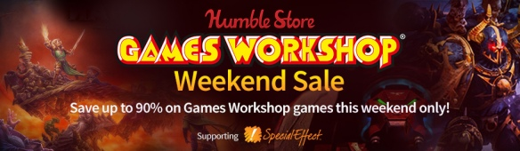 Humble Store Games Workshop Weekend Sale