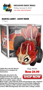 Marvel Labbit Ghost Rider