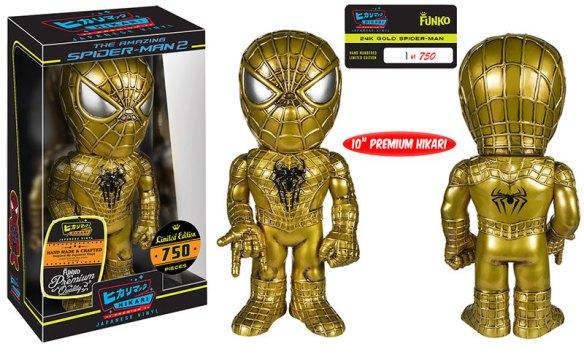 24k Gold Spider-Man Premium Sofubi Figure