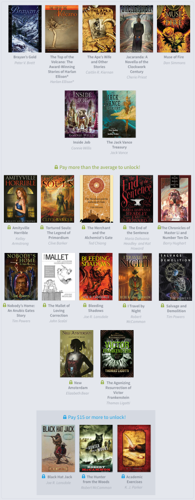 Humble Subterranean Press Bundle