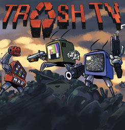 Trash TV art color
