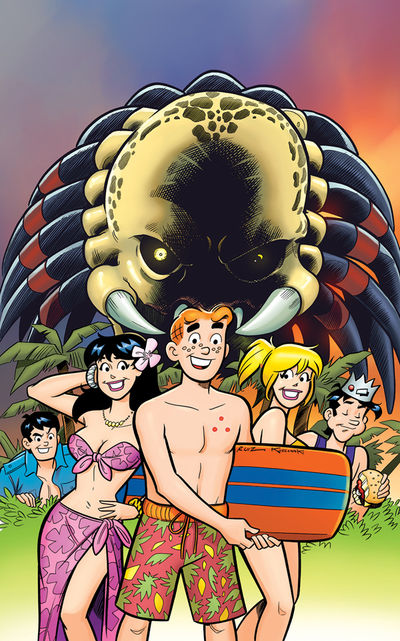 Archie vs. Predator Full Cover